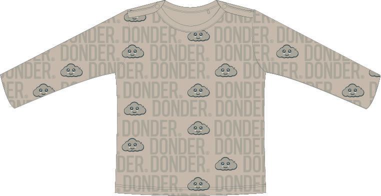 (Nederlands) T-shirt   Lange Mouw   Name Nude