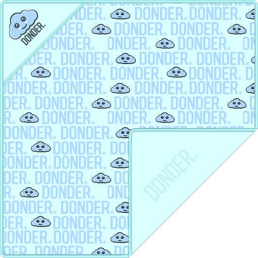 Omslagdoek | Name Blauw