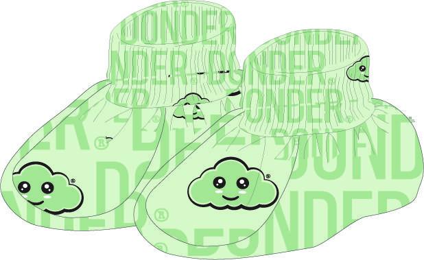 (Nederlands) Slofjes | Name Mint Groen
