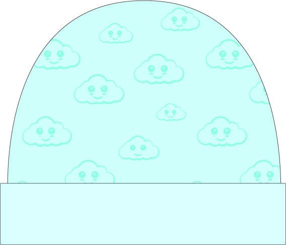 (Nederlands) Beanie | Cloud Blauw