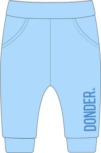 (Nederlands) Jogger | Donder | Basic Blauw