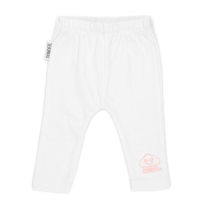 (Nederlands) Legging   Puffprint   Basic Wit