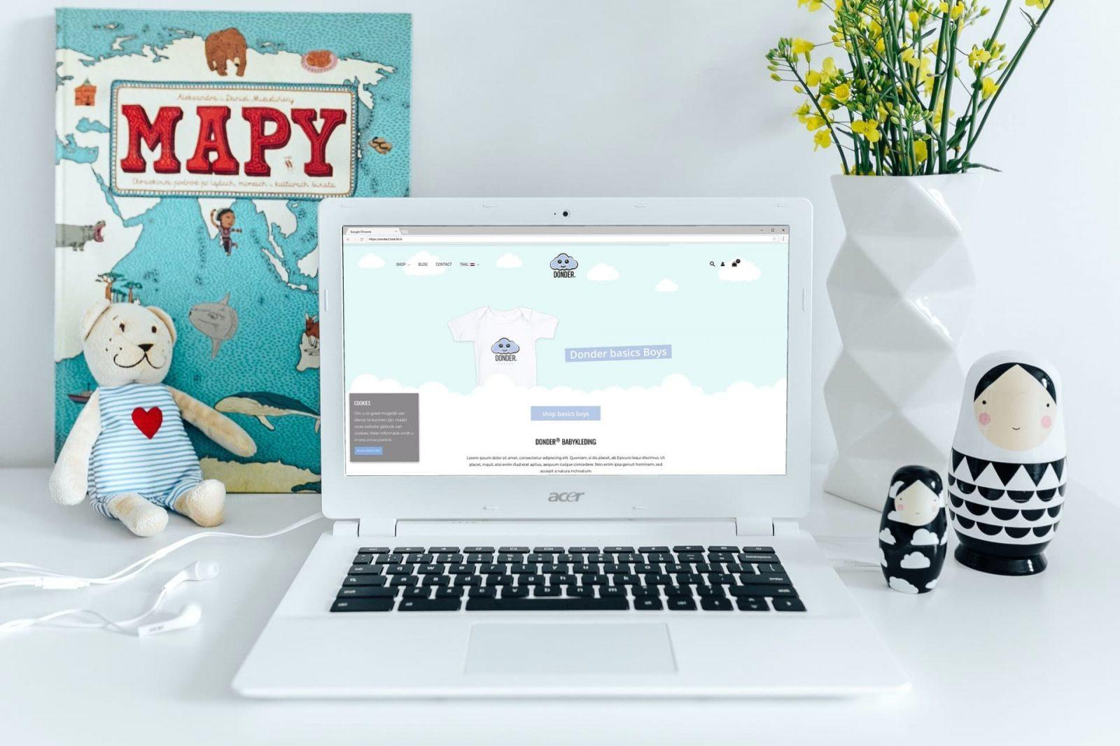 Nieuwe webshop!